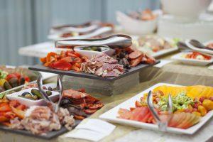 Inn at Laurel Point Seafood Buffet Victoria BC